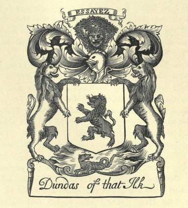 dundas coat of arms